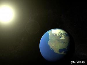 Создание космического пейзажа в 3ds Max