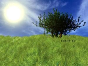 3d трава в 3ds max