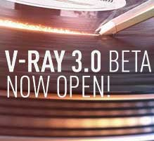 Компания Chaos Group начала beta-тестирование V-Ray 3.0 для Autodesk 3ds Max