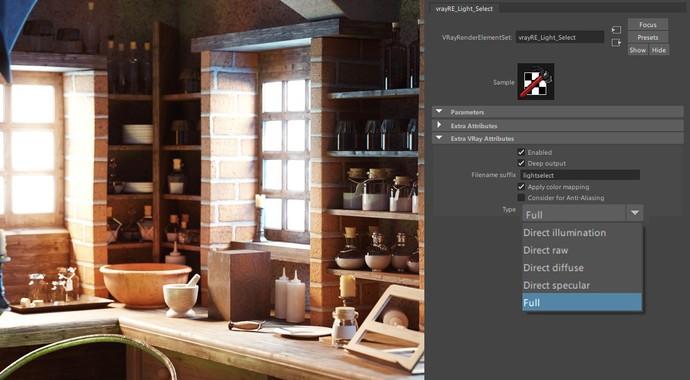 Новая версия V-Ray 3.6 для Maya
