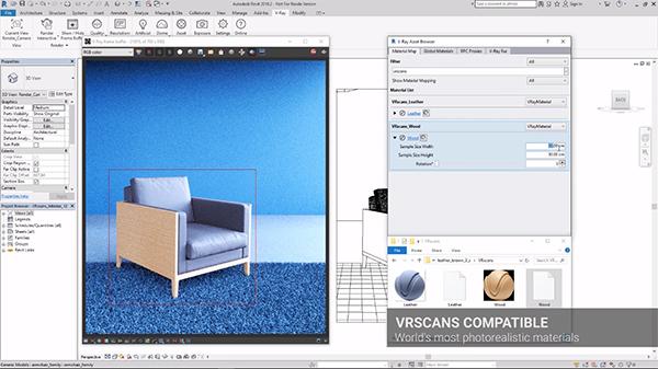 новая версия V-Ray 3.6 Revit
