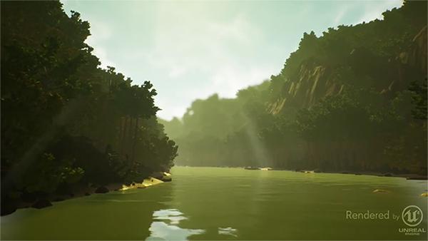 пейзаж 3d ландшафта