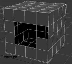 как добавить полигоны объекту в 3d max