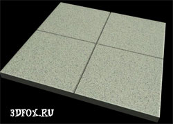 Создание плитки в 3d max