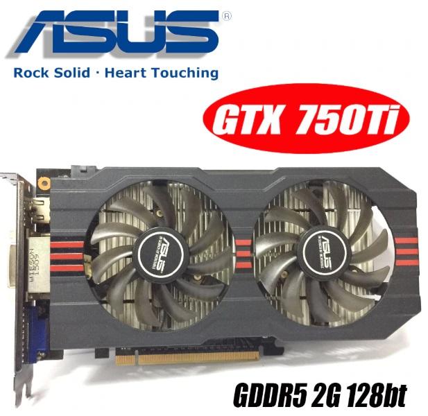 Видеокарта GTX 750Ti-2GD5 GDDR5