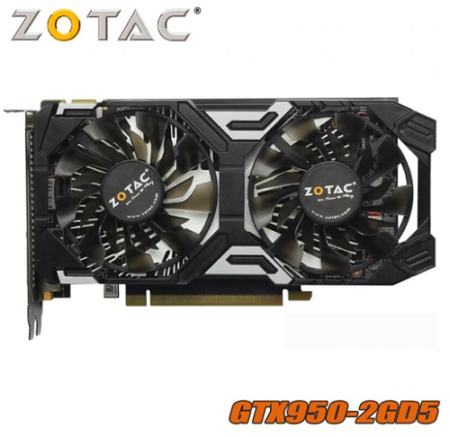 Видеокарта GeForce GTX 950 2 ГБ 128Bit GDDR5